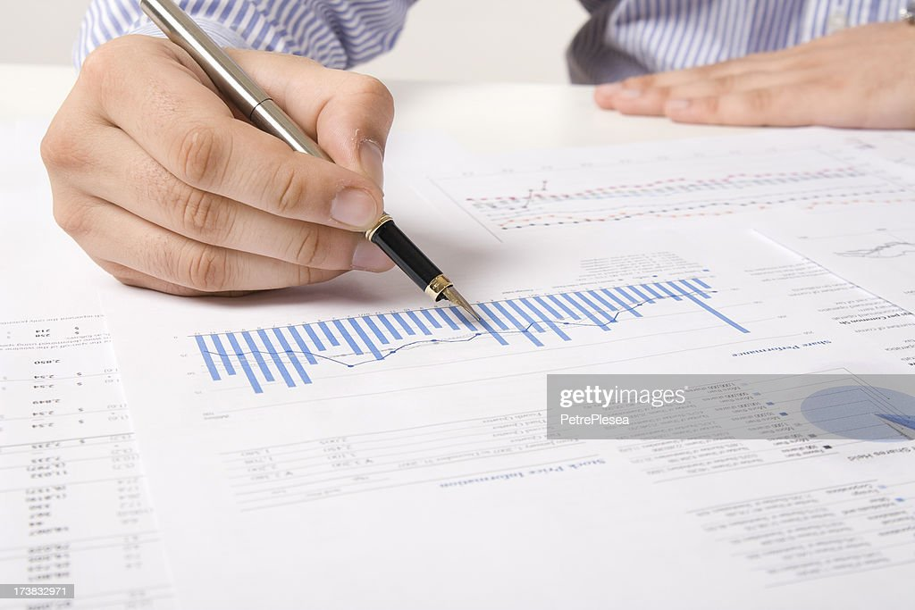 Financial Data Analysis Stock Photo  Getty Images