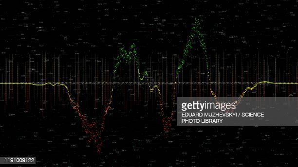 financial data, conceptual illustration - forex trading stock pictures, royalty-free photos & images