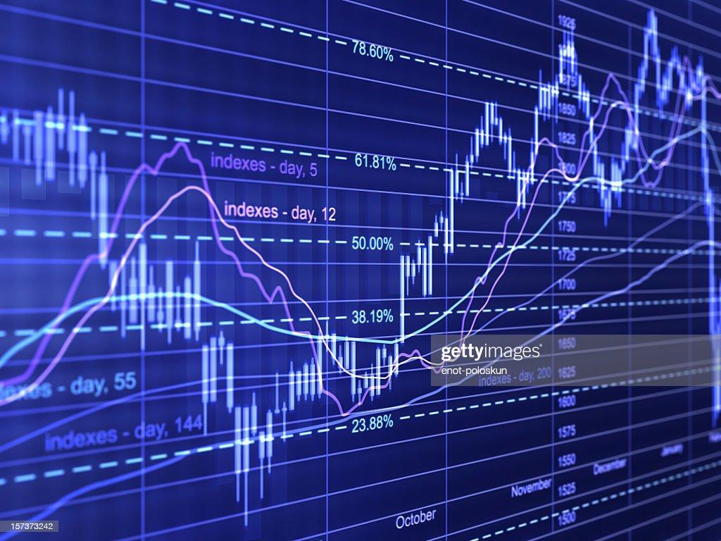 financial diagrams : Stock Photo