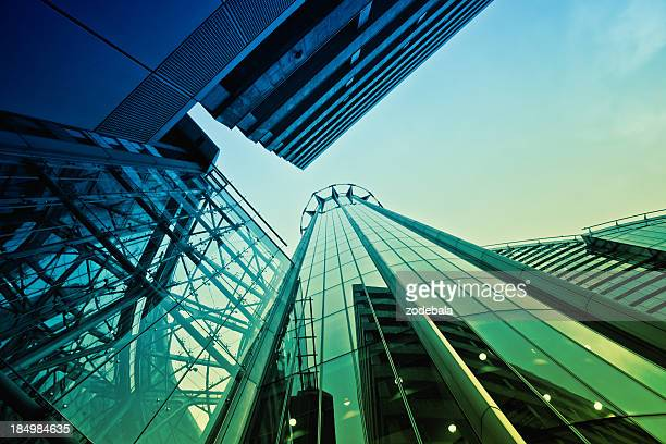 Financial District Buildings, City of London