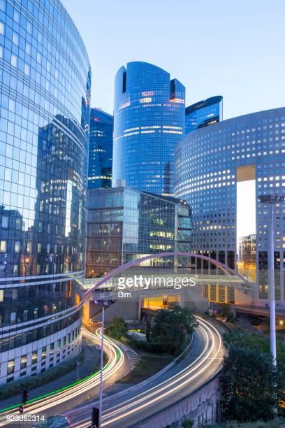 Financial District La Defense in Paris, France