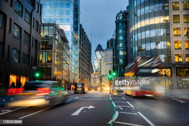 financial district of london - central london stock pictures, royalty-free photos & images
