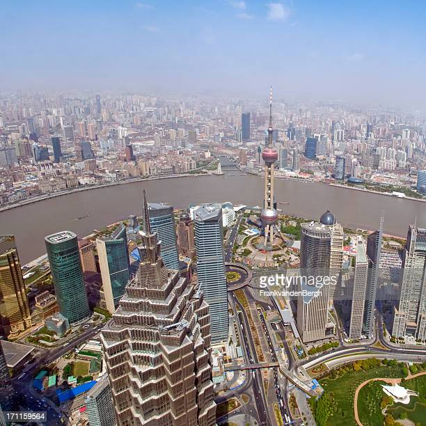 Financial District of Shanghai