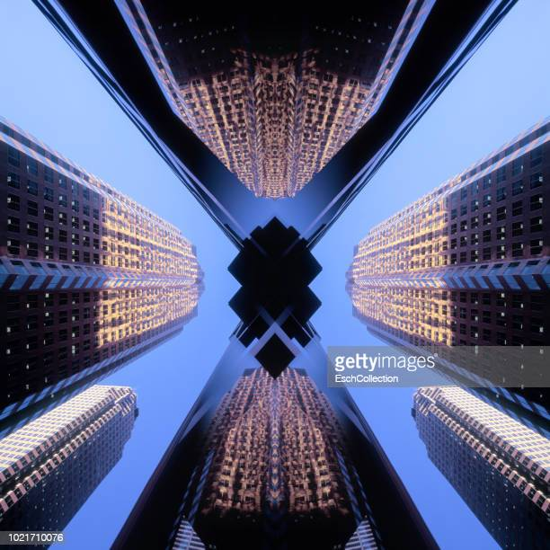 financial district of toronto, canada - prosperity stock photos and pictures