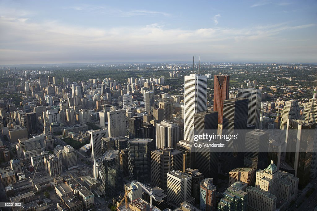 Financial District of Toronto. : Stock Photo