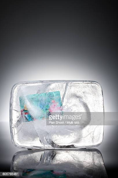 Financial, economic, iced credit card