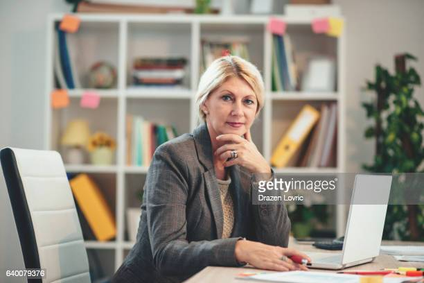 Financial expert working in financial sector