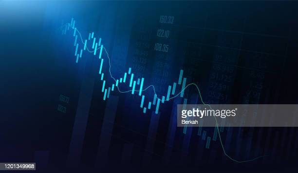 financial graph in futuristic concept - big data analysis stock pictures, royalty-free photos & images