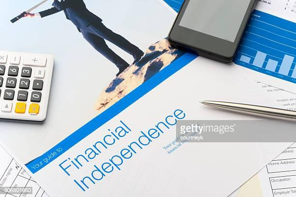 Finanzielle Unabhängigkeit Broschüre
