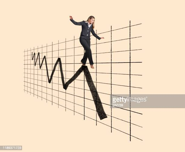 financial market volatility - bear market stock pictures, royalty-free photos & images