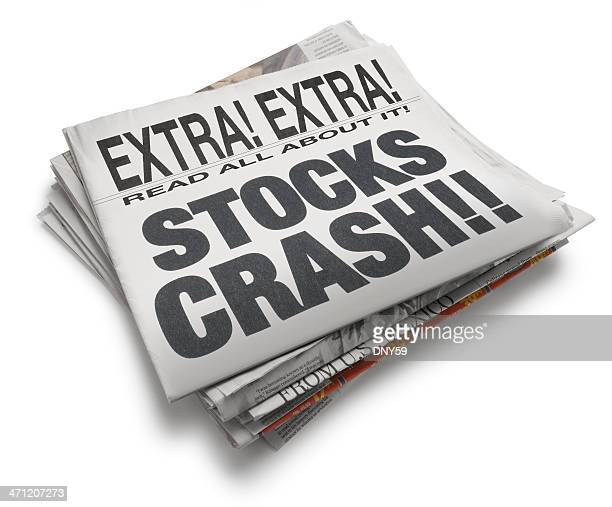 financial news - stock market crash stock pictures, royalty-free photos & images