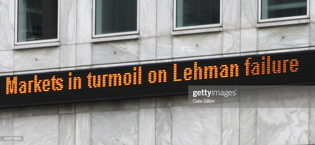 Lehman Brothers UK Business Placed Into Administration : News Photo