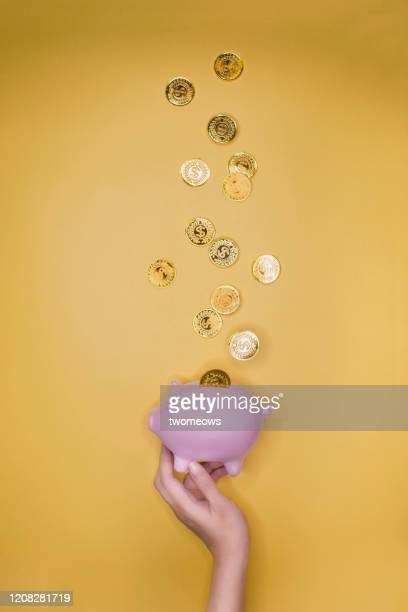 financial planning conceptual still life. - finanzplanung stock-fotos und bilder