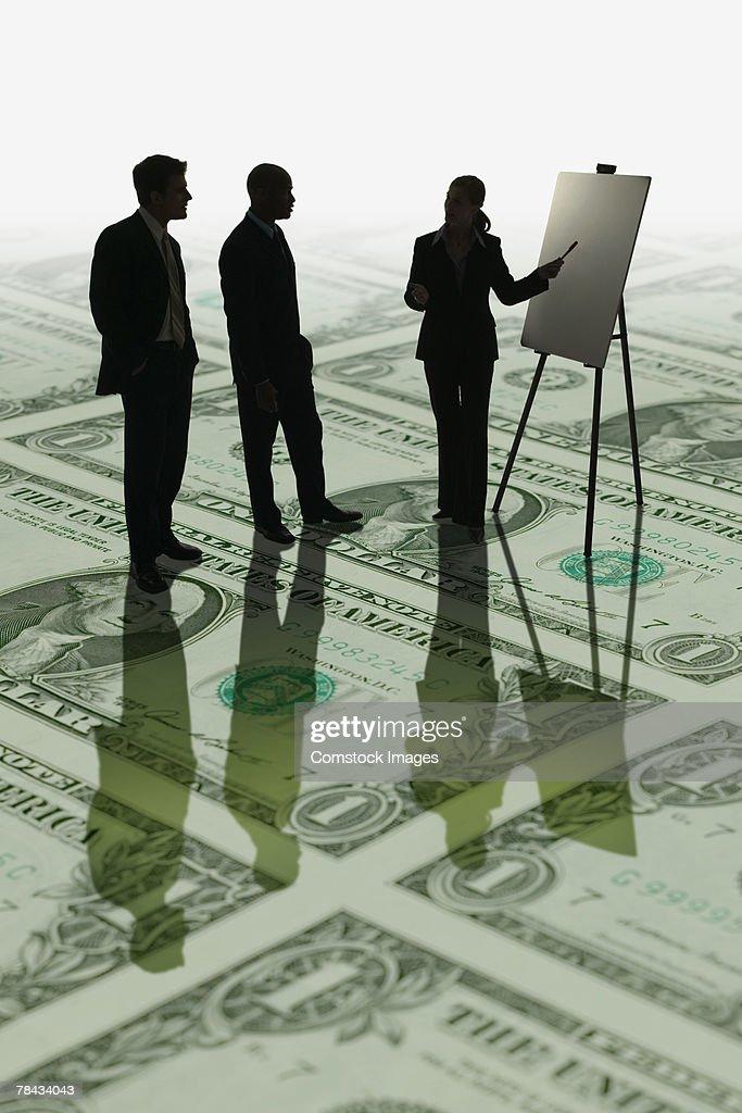 Financial presentation : Stockfoto