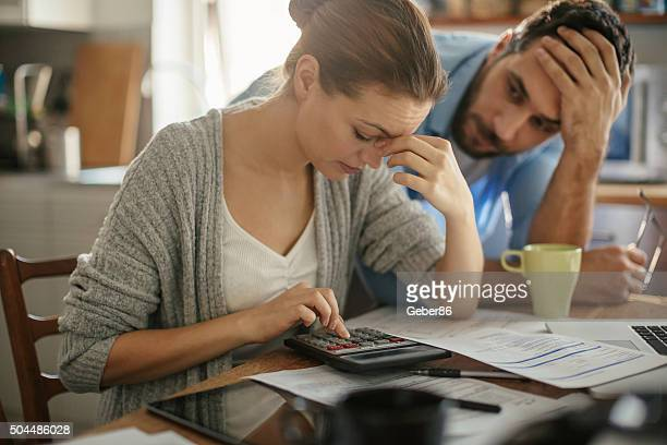 financial problems - human relationship stock pictures, royalty-free photos & images