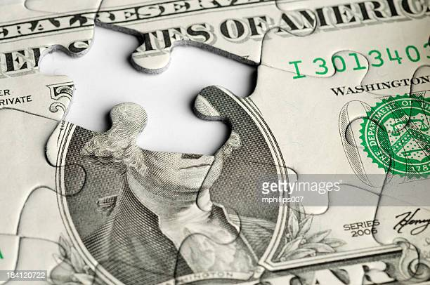 Finanzielle Puzzle