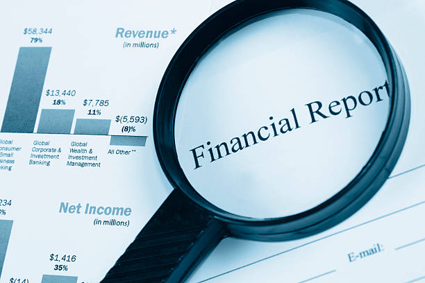 what are corporate financial statements report