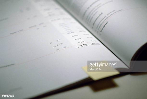 A financial report