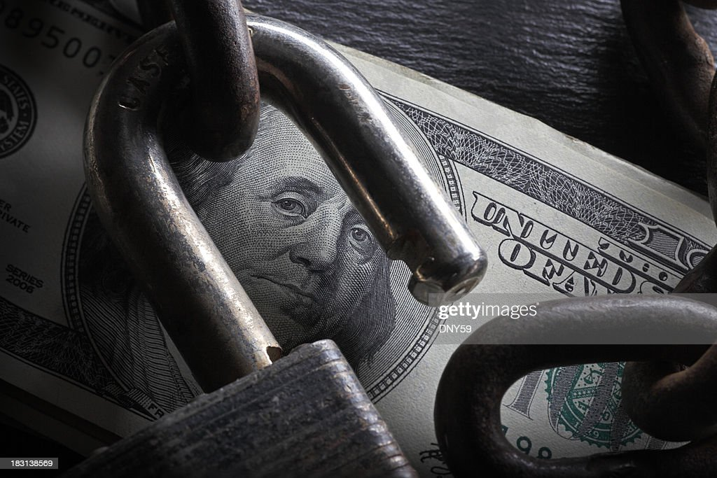 Financial Security : Stock Photo