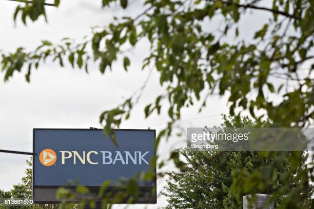 PNC Financial Services Group Inc signage is displayed outside a bank branch in Morton Illinois US on Monday July 10 2017 PNC Financial Services Group...