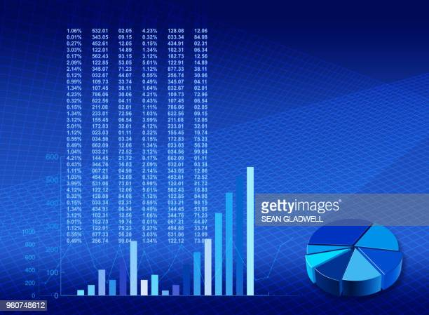 financial stock template - computer graphic stock pictures, royalty-free photos & images