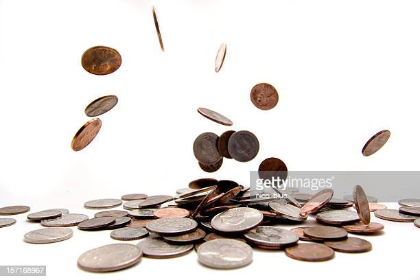 financial success - coin stock pictures, royalty-free photos & images