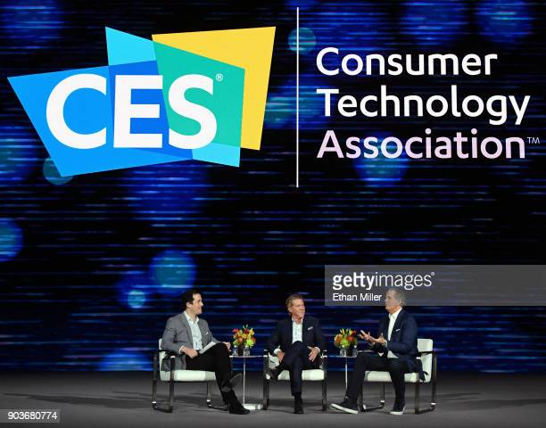 Financial Times global media editor Matthew Garrahan Turner Chairman and CEO John Martin and Hulu CEO Randy Freer participate in a keynote panel on...
