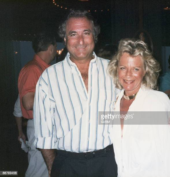 ACCESS*** Financier Bernard Madoff and his wife Ruth Madoff during July 1987 in Montauk NY