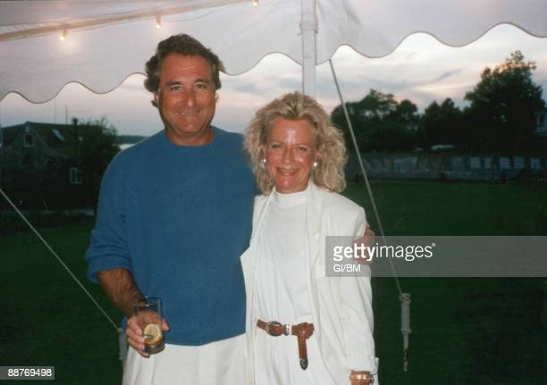 ACCESS*** Financier Bernard Madoff and his wife Ruth Madoff during July 1989 in Montauk NY