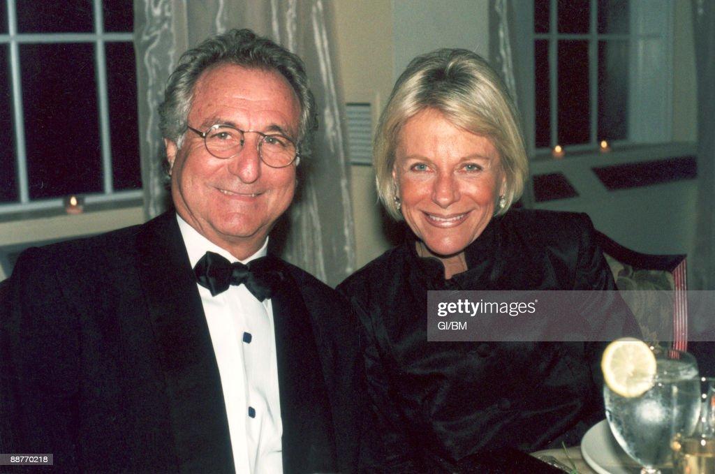 Financier Bernard Madoff and his wife Ruth Madoff during ...