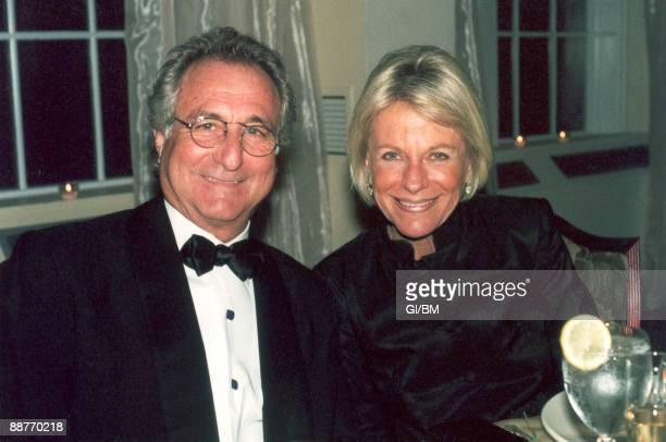 ACCESS*** Financier Bernard Madoff and his wife Ruth Madoff during November 2001 in Long Island NY