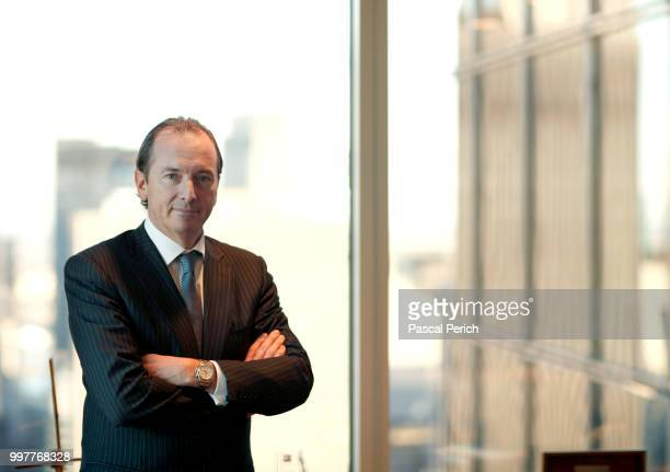 Financier James Gorman photographed for the Financial Times on May 29 2010 in New York City