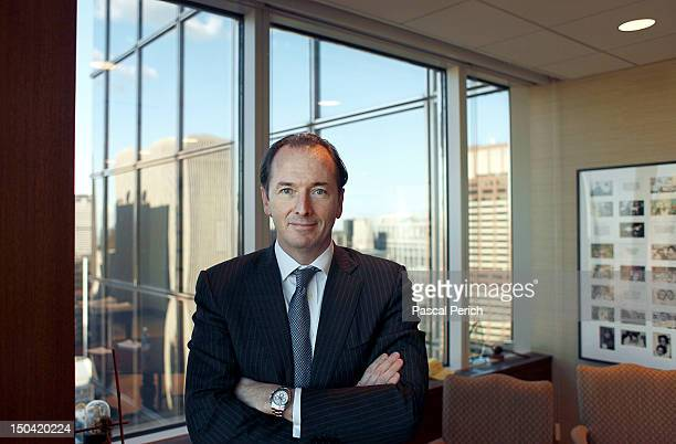 Financier James Gorman photographed for the May 2010 Financial Times in New York City