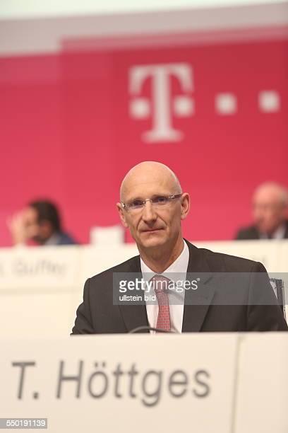 Finanzvorstand Timotheus Hoettges Deutsche Telekom Hauptversammlung Lanxess Arena