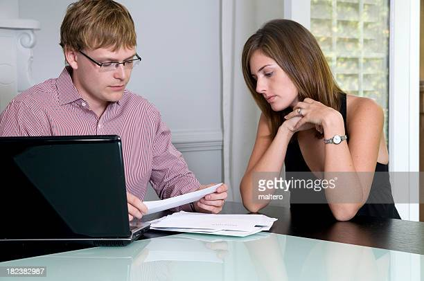 Fincial difficulties facing young couples.