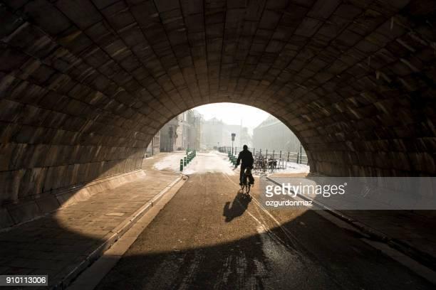 find & replace pedestrians and arch bridge, ghent, belgium - flandres oriental imagens e fotografias de stock