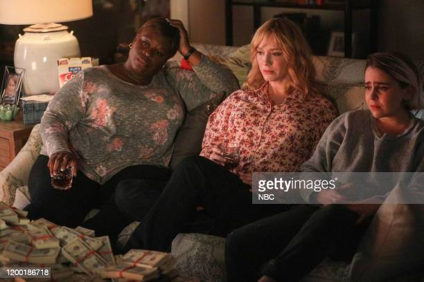 """Find Your Beach"""" Episode 301 -- Pictured: Retta as Ruby Hill, Christina Hendricks as Beth Boland, Mae Whitman as Annie Marks --"""