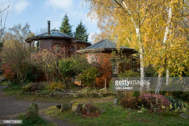 Findhorn Foundation on the 6th November 2018 in Findhorn Scotland in the United Kingdom The Findhorn Foundation is a Scottish charitable trust which...