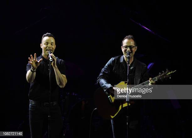 Finding Faith perform at Las Vegas's 8th annual NF Hope Concert A Benefit for Neurofibromatosis at the Palazzo Theatre at The Palazzo Las Vegas on...