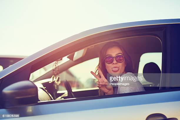 finding peace on the road - black hair stock pictures, royalty-free photos & images