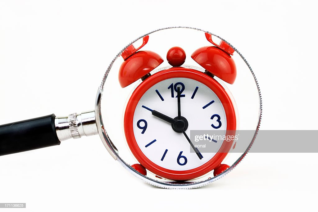 Finding time : Stock Photo
