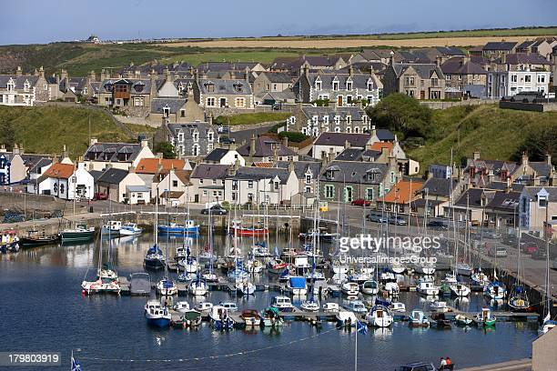 Findochty, town and harbour, Morayshire, Scotland, United Kingdom.