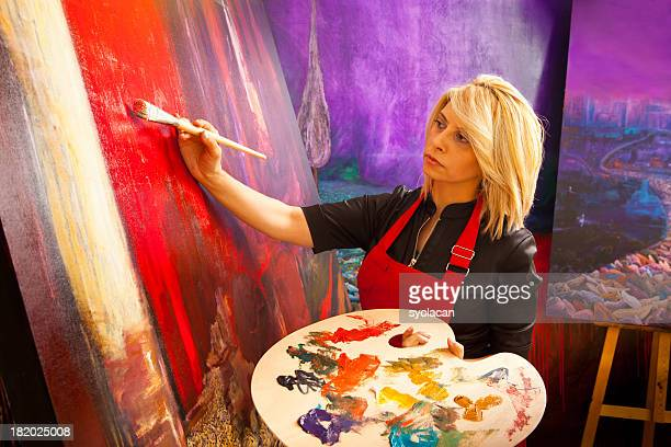 Fine art painter