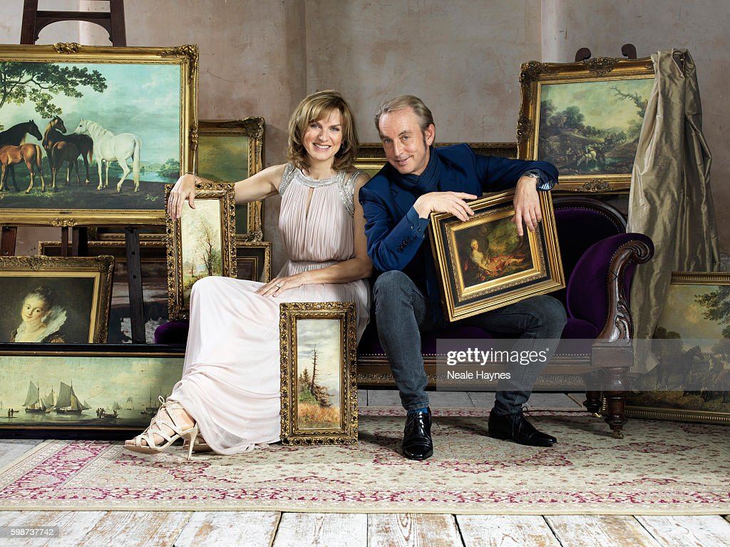 Fiona Bruce & Phillip Mould, Daily Mail UK, July 16, 2016 : News Photo