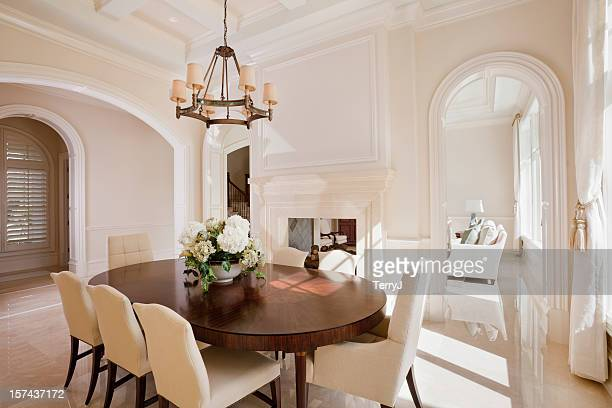 fine dining - dining room stock pictures, royalty-free photos & images