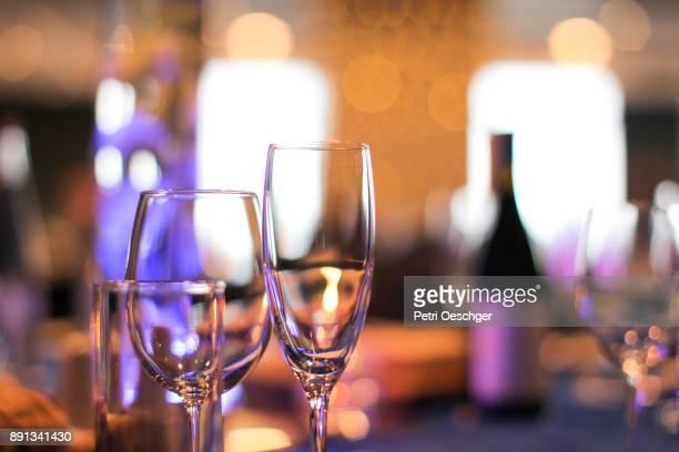 fine dining. - d'atmosfera foto e immagini stock