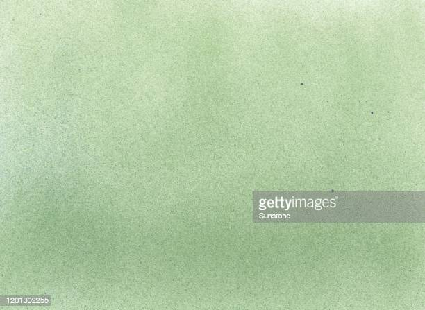 fine grain grunge retro vintage forest green airbrush paint spraypaint texture - green colour stock pictures, royalty-free photos & images