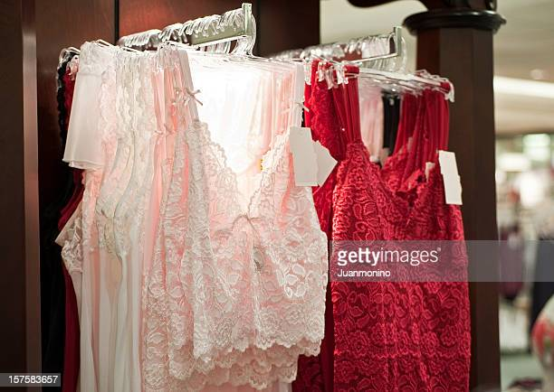 fine lingerie - camisole stock photos and pictures