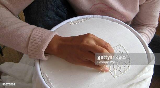 Fine needlework