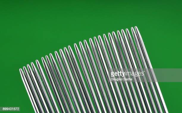 fine toothed head lice cleaning comb - louse stock pictures, royalty-free photos & images